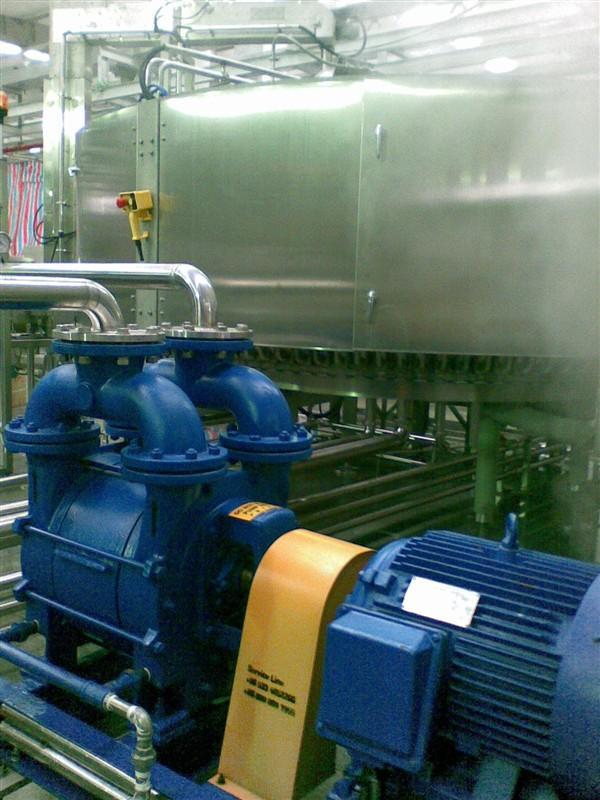 水环真空泵de应用
